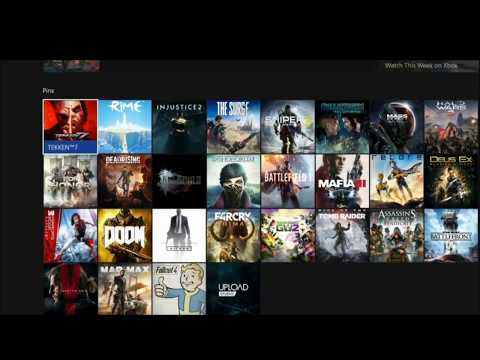 My Complete Xbox One 900+ Digital Games Library!