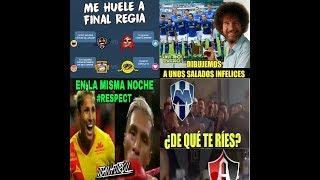 MEMES America y Rayados a Semifinales van contra Tigres y Morelia asi quedaron Apertura 2017