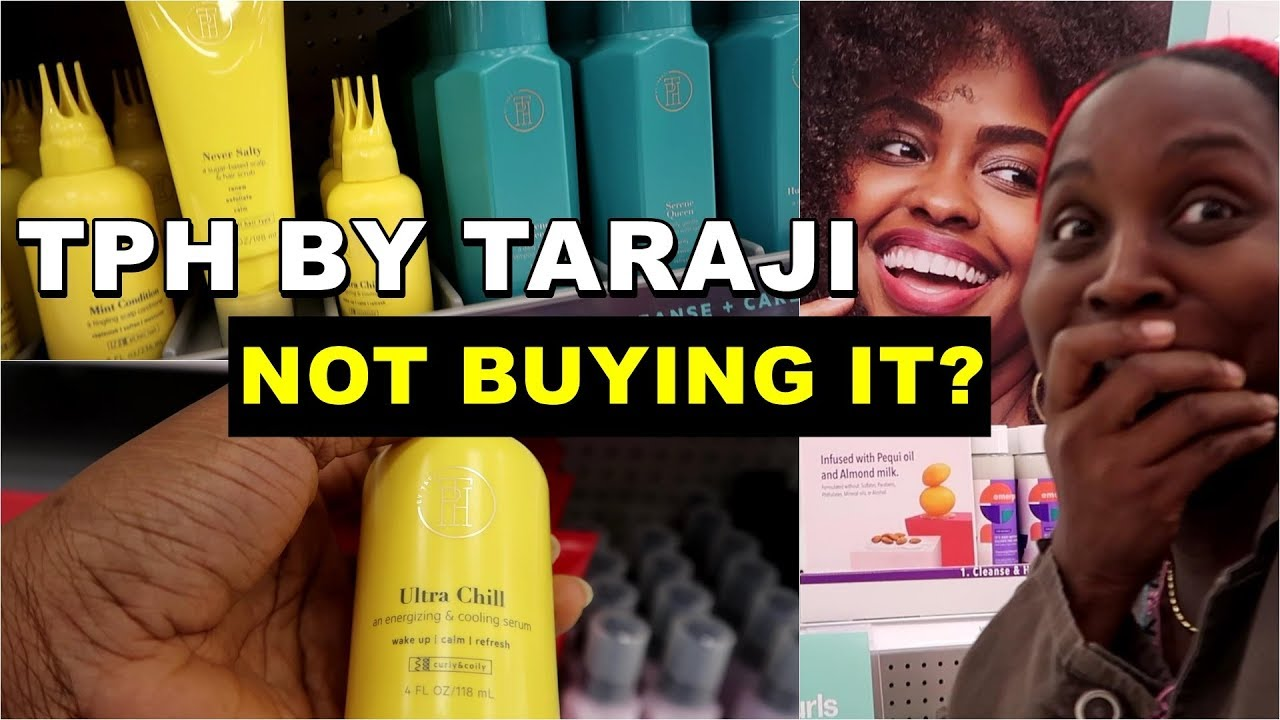 Tph Beauty By Taraji P Henson Collection Why I Did Not Buy It Discoveringnatural Youtube