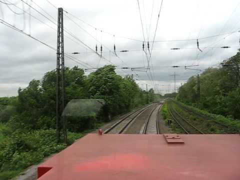 Nice diesel engine sound Vossloh G1000BB diesel locomotive,CABRIDE VIDEO
