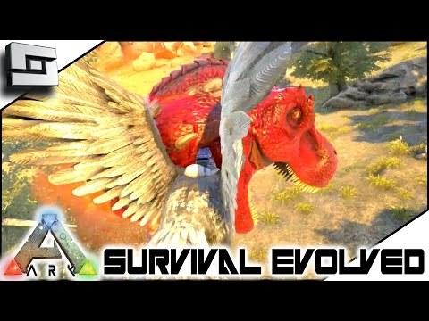 ARK: Survival Evolved - DOUBLE ALPHA REX FIGHT! S3E93 ( Gameplay )