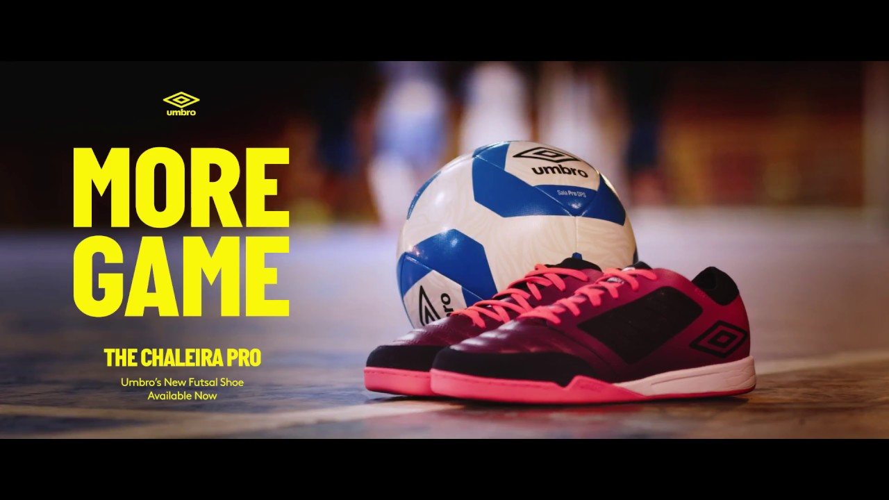 More Game  Brazilian futsal stars put the new Umbro Chaleira Pro to the test 0036d803aded7