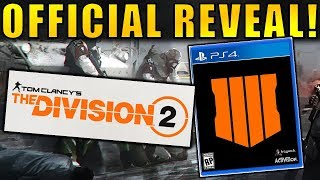 The Division 2 & Black Ops 4 REVEALED! | Release Date, Teaser Trailer, & More!