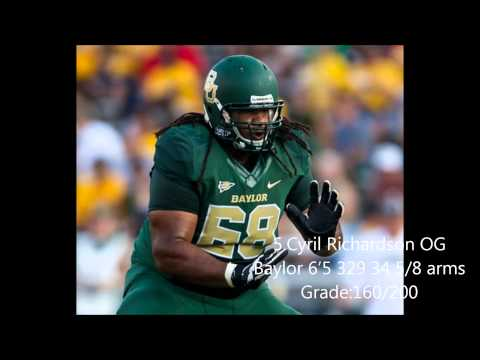 Draftday 101 NFL Draft Final Interior Offensive Lineman Ranking 2014
