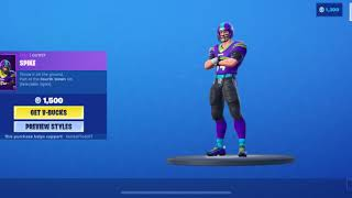 September 5, 2019 Fortnite item shop today show case FOOTBALL SKINS ARE HERE!!!!!