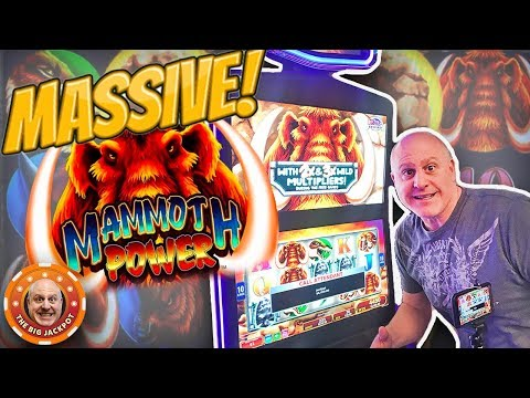 ✦ MASSIVE WIN! ✦ Mammoth Power Jackpot! ➡️MORE FREE GAME$ ?- The Big Jackpot - 동영상