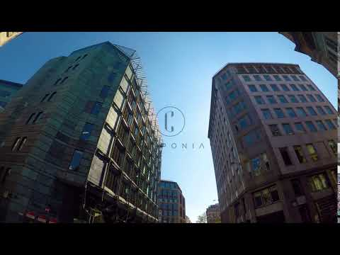 Steadicam City of London Office Financial District 4K