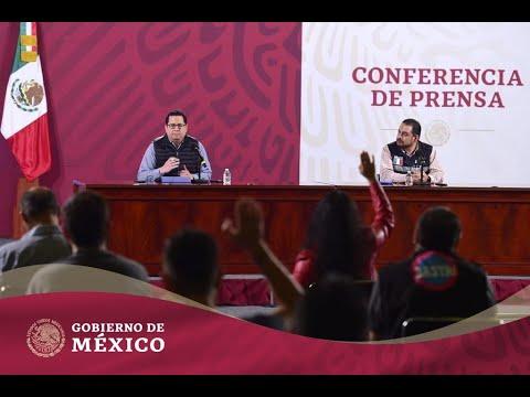 Conferencia de Prensa #COVID19 | 11 de octubre de 2020 #GraciasPorCuidarnos