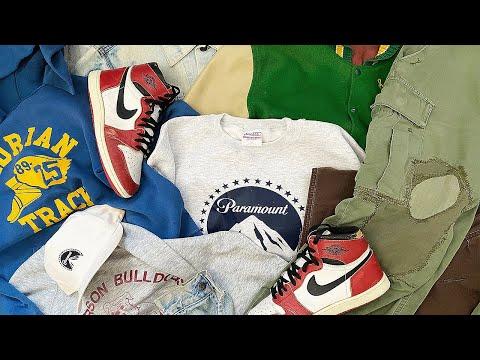 Vintage Clothing Pickups Episode 1 | 1985 Air Jordan 1 , Unsound Rags , Nike ACG & More !
