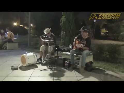 Street music in Tbilisi, Georgia