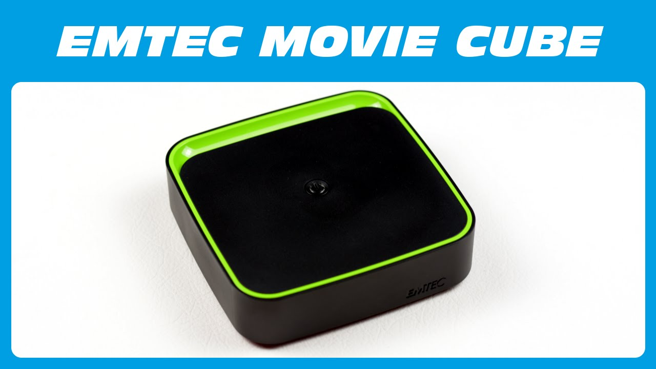 56fc1b60a EMTEC Movie Cube The TV Box (ECLTVF400) Unboxing & Kurzreview - YouTube