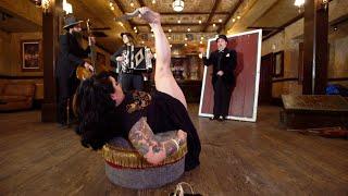 Foot-Throwing Daggers! Meet Sideshow Opera