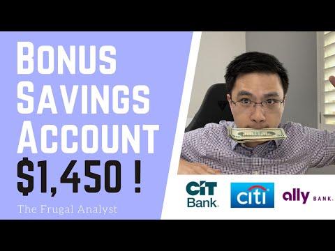 Top Bonus Saving Accounts That Pays Me $1,450 + Interest