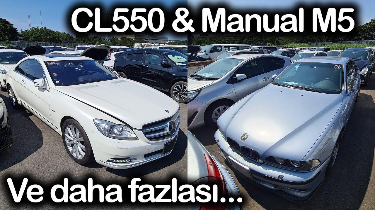 Müşterilerimizin Araçları; BMW M5, Hybrid 3, 525i, E550, SL500, S600L, CL550 | Japonic Trade