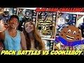 PACK BATTLES VS COOKIEBOY! SLAPCAM CHALLENGE VS MY GIRLFRIEND!