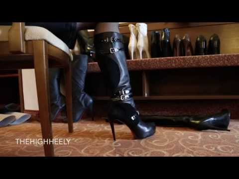 My black knee-high boots with red sole - Meine schwarzen Stiefel mit roter Sohle from YouTube · Duration:  2 minutes 45 seconds