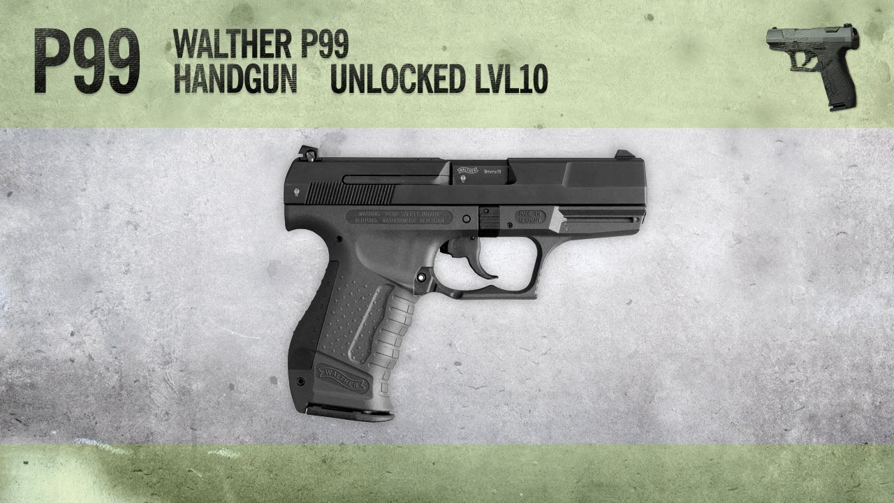 p99 mw3 weapon guide gameplay gun review youtube rh youtube com Walther P99 as 9Mm Review Walther P99 As