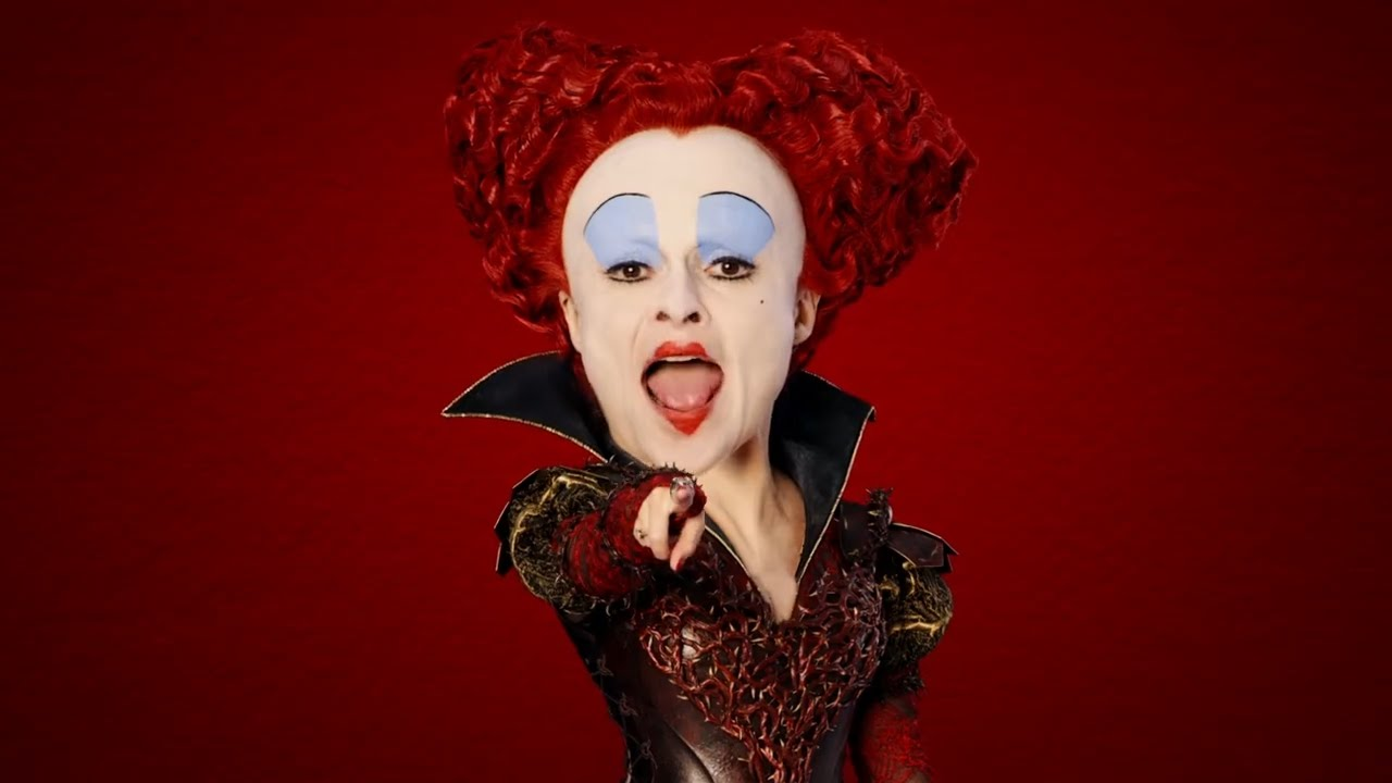 Alice Through the Looking Glass - Red Queen Message - YouTube Helena Bonham Carter