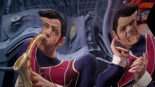 We Are Number One but the saxophone instrument at the beginning is played through out + distortion
