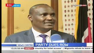 NASA wants MPs affiliated to the coalition to continue remitting 10,000 shillings to secretariat