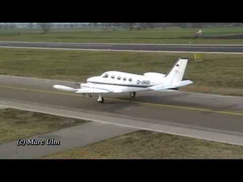 HD - Sound Cessna 340A II Take Off