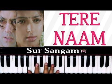 Tere Naam Title Song Harmonium Easy Tutorial  I Harmonium I Piano I Sur Sangam I Tere Naam 2