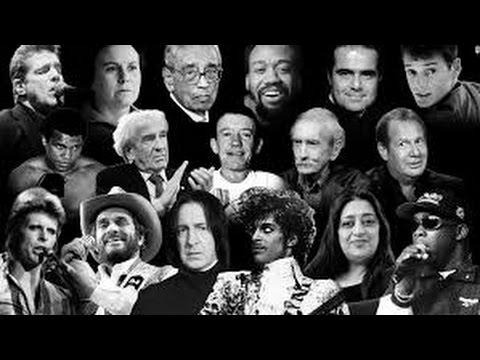 Unplugem News in Review p1/3: The Secret of Celebrity Deaths & Silence of The Fringe