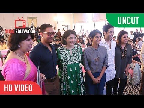 Uncut - Aamir Khan, Farah Khan, Kiran Rao, Tusshar Kapoor | Jaslok FertilTree Launch