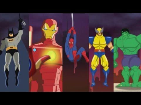 Kids Song TV - 5 Little Monkeys Hulk vs Spiderman Jumping on the Bed