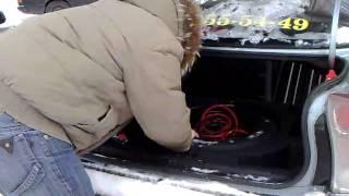 видео Прибираем инструмент в машине в запасное колесо