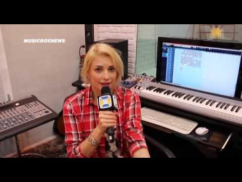 Татьяна Котова и Дмитрий Климашенко в программе Music Box News
