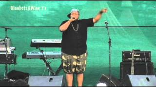 Tumi Hiphop artist performing live@ Blankets and Wine 36,