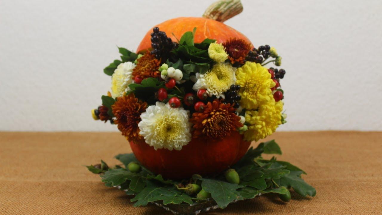 Herbstdeko Mit Kurbis Basteln Deko Ideen Mit Flora Shop