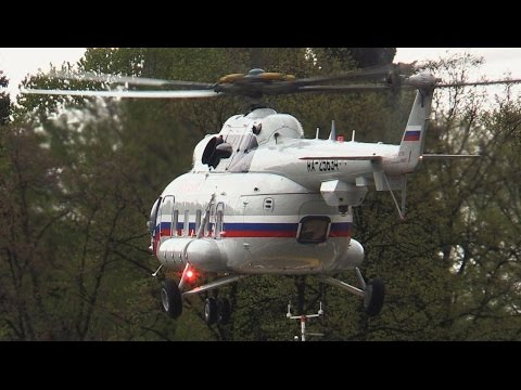 """Вертолеты Ми-8МТВ-1 СЛО """"Россия""""  в Кремле"""