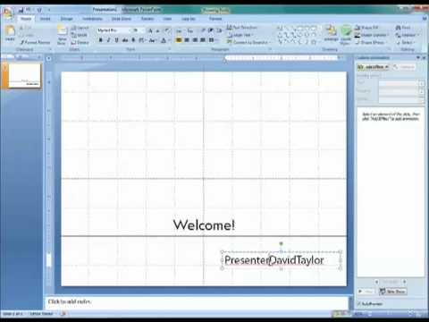 PowerPoint 2007 Tutorial #1: Secrets of Professional Presentations-P1