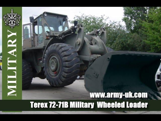 Terex 72-71B army Wheeled Loader