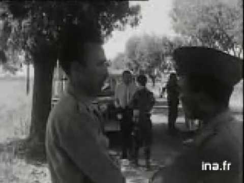 Entrée de Boumediene avec ses troupes á Alger 1962