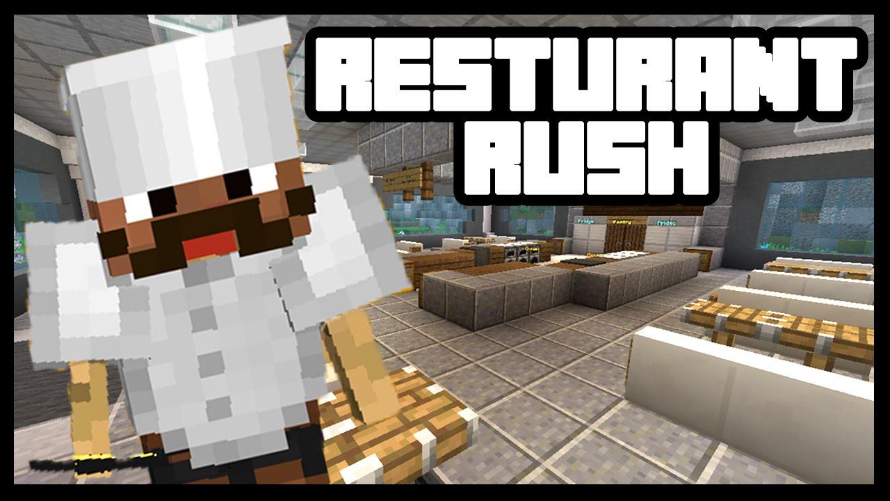 Minecraft hell s kitchen restaurant rush youtube