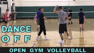 DANCE OFF - Open Gym Volleyball Highlights (1/18/18) part 2