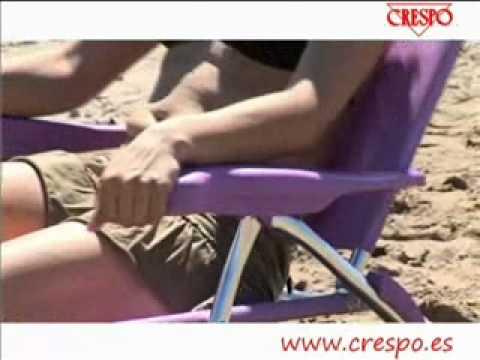 Crespo : Silla de playa AL 222 beach chair