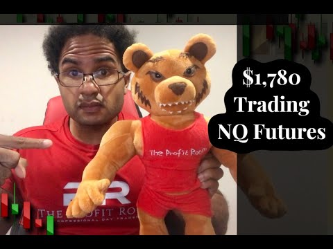 How To Day Trade Futures Live!  NASDAQ – NQ $1,780 Profit in 3 min