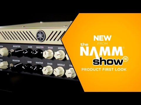 NAMM 2016 - Yamaha THR100H 100-watt Modeling Head