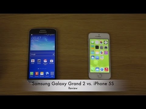 Samsung Galaxy Grand 2 vs. iPhone 5S
