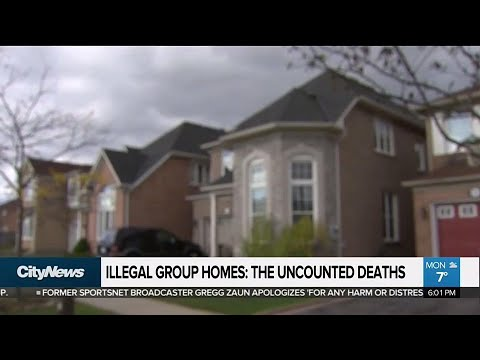 Deaths in illegal group homes not being tracked