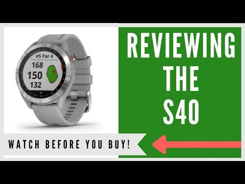 ✅ GARMIN APPROACH S40 GPS WATCH: AN HONEST REVIEW