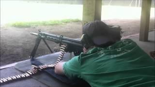 h 21 shrike machine gun shoot