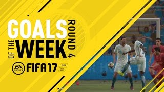 FIFA 17 - Goals of the Week - Round 4