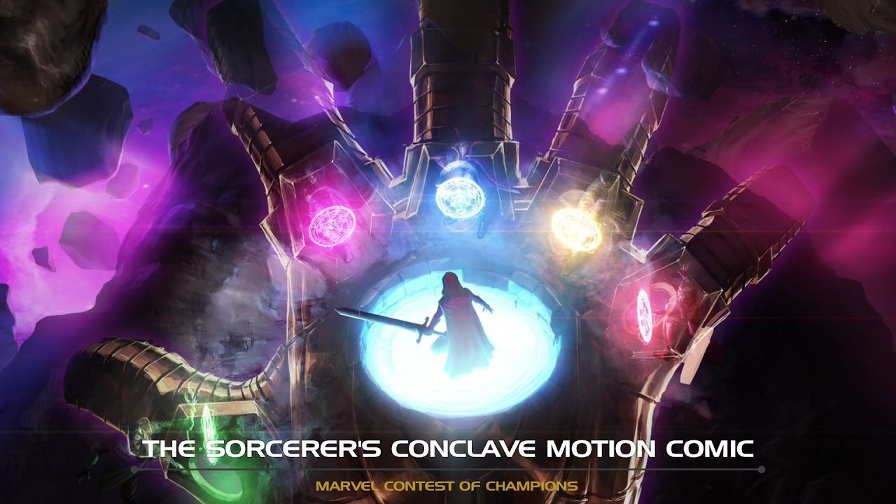 the-sorcerer-s-conclave-motion-comic-marvel-contest-of-champions