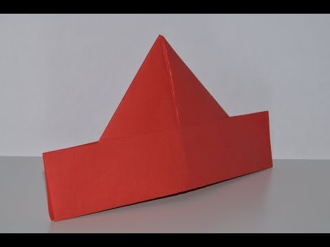 How to Make a Sailor's Hat - Pretty Origami