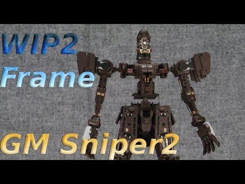 GunplaVsDoll - Gunpla WIP 02 - MG GM sniper 2 - Frame